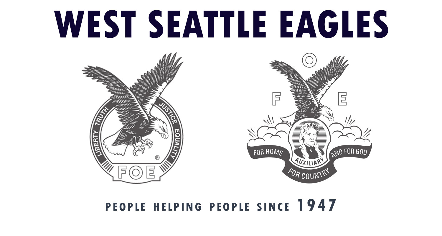 West Seattle Eagles People Helping People Since 1947